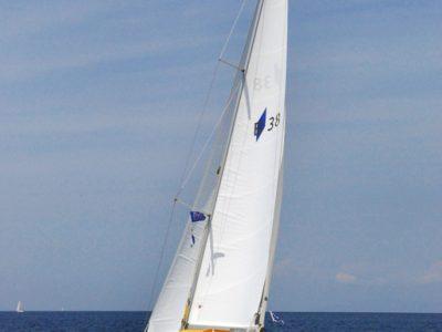 Bavaria 38 Cruiser onder zeil