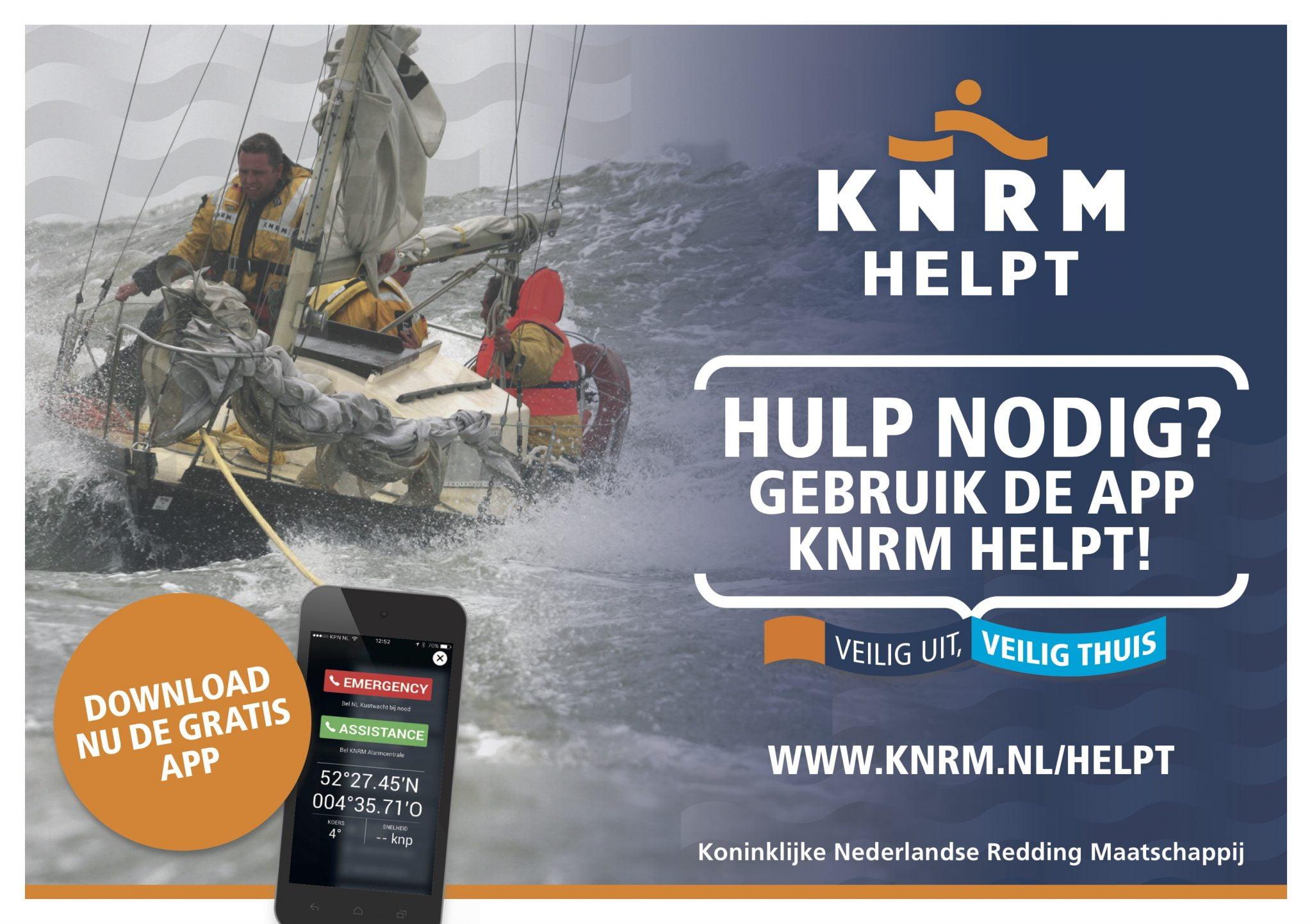 KNRM Helpt app