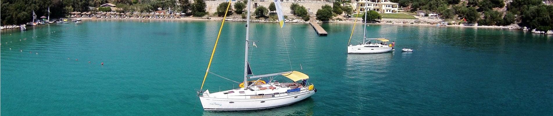 Vier de zomer in Griekenland