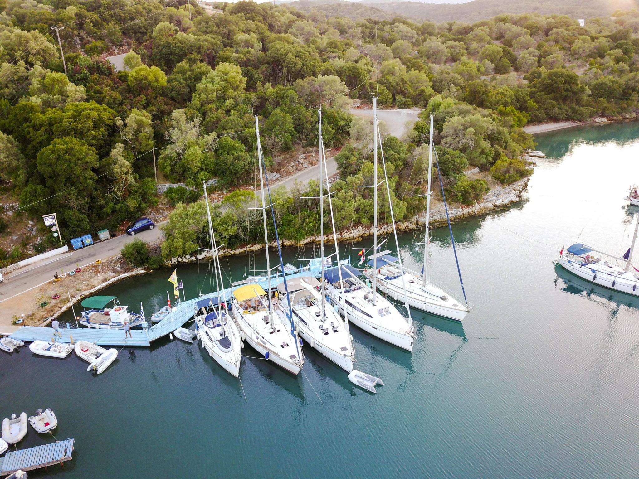 Flottielje zeilen Lefkas - Tip Top Sailing