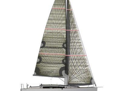 Dufour 360 GL sail plan